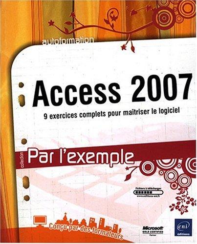 Access 2007 par Collectif