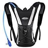 Professional Hydration Backpack, Water Bag Backpack with 2L Hydration Pack Water