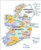 Ordnance Survey Ireland Blatt 70, Kerry, Dingle, Brandon Mountain / Peak, Beenoskee, Irland Südwestküste topographisch