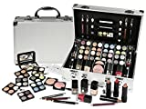 Exclusive Makeup Cosmetics Vanity Case Filled with Stylish Colours 50 Pieces by Beautycase