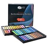 Artina Pasteo Master Series Soft Pastel - Consistencia oleosa - Calidad de Estudio - Set de 48 Colores con Caja