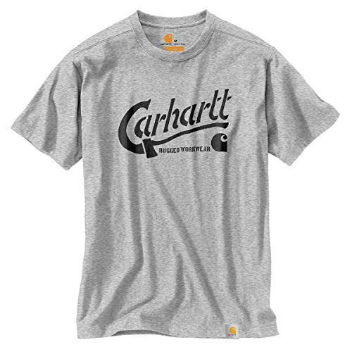 Preisvergleich Produktbild Carhartt T-Shirt Maddock Graphic AX, Grau (Heather Grey), Gr. XS