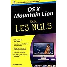 Mac OS X Mountain Lion Poche Pour les Nuls