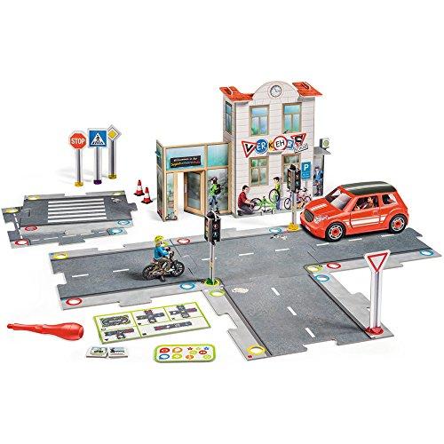 Spielwelt Verkehrsschule - 00777 / Lerne spielend den Straßenverkehr kennen (Themen Geburtstag Zum Ersten Geburtstag Für Jungen)
