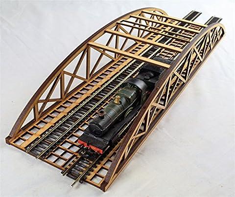 OO Gauge Double Track Bowstring Bridge by WWS – Model Railway MDF Scenery