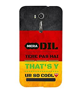 EPICCASE Dil Cool Mobile Back Case Cover For Asus Zenfone 2 Laser ZE550KL (Designer Case)