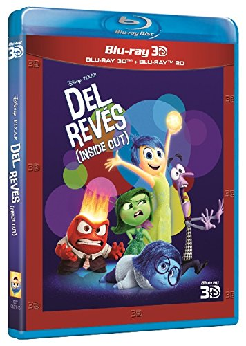 Del Revés (Inside Out) (BD 3D + 2D) [Blu-ray] 514StVQ MDL