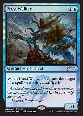 Magic: the Gathering - Frost Walker (006/012) - FNM Promos - Foil by Magic: the Gathering (Walker Frost)
