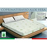 Protège matelas alèse Aloe Vera Bio natural–2places