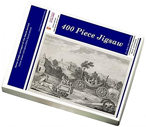 Photo Jigsaw Puzzle of Horse-drawn carriages of the Saxon period