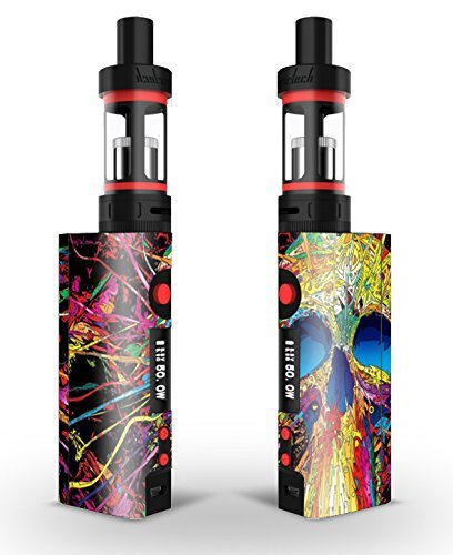 kange rtech subox Mini Skin Sticker/Wrap Paint Skull | Kanger per cellulare Subtank Coil (Anti Scald Dispositivo)