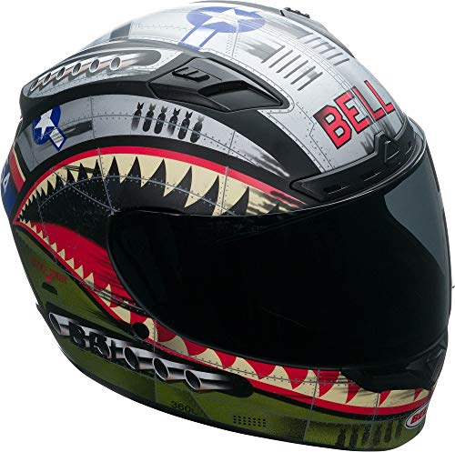 Bell HELMET QUALIFIER DLX MIPS DEVIL MAY CARE OLIVE MATT M
