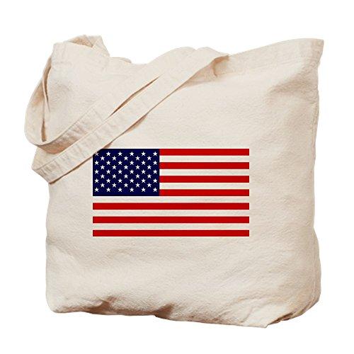 ican Flagge HQ–Leinwand Natur Tasche, Reinigungstuch Einkaufstasche M khaki (4. Juli Waren)