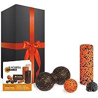 Preisvergleich für blackroll-orange Zubehör-Set Geschenkedition mit MINI Faszienrolle, Massageball, TwinBall & Twister
