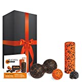 blackroll-orange Zubehör-Set Geschenkedition mit MINI Faszienrolle, Massageball, TwinBall & Twister
