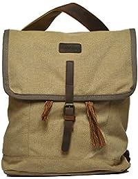 Amado Unisex Shoulder Bag (Khaki) (1048-1_khaki)