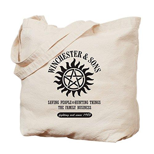 CafePress Winchester & Sons Bags Tragetasche, canvas, khaki, S