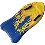 Beneyond Tavola da sci d'acqua per bambini da 41 pollici/Tavola da galleggiamento per bambini/Tavola da surf professionale a forma di pesce in EPS,Tavola da nuoto (Totem di fiamma)