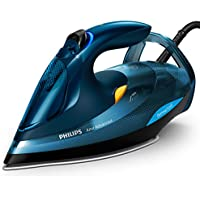 Philips Azur Advanced Dampfbügeleisen GC4937/20 (3000 W, 240g Dampfstoß, OptimalTEMP, Calc-Clean-System) blau