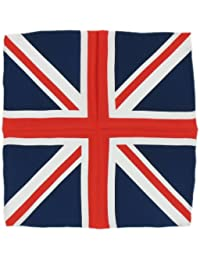 Red/White/Blue Union Jack Silk Handkercheif by Michelsons of London