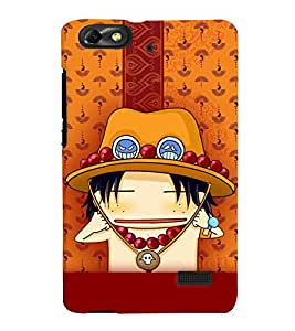 Fuson 3D Printed Cartoon Designer back case cover for Huawei Honor 4C - D4288