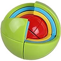 Inteligencia de pelota, minkoll Puzzle 3d Puzzle Inteligencia Labyrinth juguete diy Juegos para niños educativas - Comparador de precios