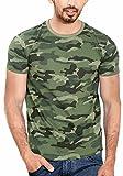 #9: WYO.in Men's Cotton Camouflage T-Shirt Half Sleeve Round Neck