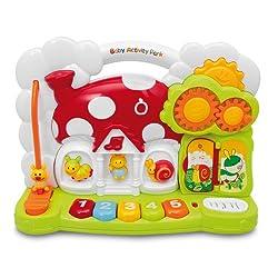 Baby-Spielcenter mit Geräuscheffekten
