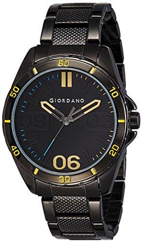 Giordano Analog Black Dial Men's Watch-A1050-33 image