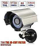 CCTV Camera - BW BW50QS 700TVL HD IR Cut Bullet Camera Day Night