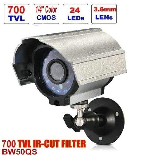 CCTV-Kamera - BW BW50QS 700TVL HD IR-Schnittkugel-Kamera-Tag-Nachtsicht-Farbe CMOS wasserdichte / wetterfeste im Freien videoüberwachungskamera für CCTV-Sicherheitssystem Farbe Wasserdichte Kamera