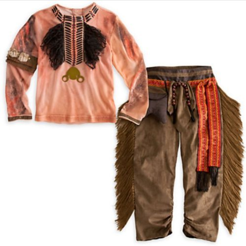 Lone Ranger Deluxe TONTO Costume for Boys (Size 4 (X-Small)) by Disney (Lone Ranger Kostüme Für Kinder)