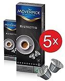 MÖVENPICK RISTRETTO Kaffeekapseln 5 x 10 Kapseln Sparset
