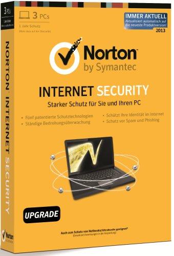 Norton Internet Security 2013 - 3PCs - Upgrade (aktualisiert automatisch auf die...