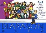 Diapason Bleu - Carnet de 184 chants Scouts de France