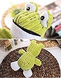 Tofern Plüschspielzeug Quietschspielzeug Kauspielzeug Zahnknoten Knotentau Spielzeug Hund Katze, Frosch