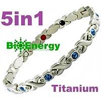 BioEnergy 282 Magnetisches Energiearmband mit Titan und Germanium, 5-in-1 Bioenergie preisvergleich bei billige-tabletten.eu