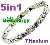 Reintita Magnetische Energie Germanium Energien Armband Gesundheit magnet 5in1 176