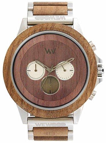 WEWOOD Ethereum Nut Silver Gun - Reloj de hombre