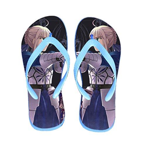 Bromeo Steins Gate Anime Unisexe Flip Flops Tongs 821