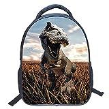 MRXUE Kinder Rucksack Schultasche Transport Rucksäcke 3D-Animal Dinosaurier-Ideal Leichtgewichtig Jungs Mädchen Für Die Schule, Reisen, Im Freien,Dinosaur04