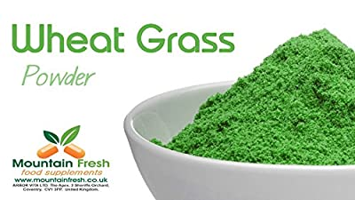 Wheatgrass Powder - Superfood Supplement 25g FREE UK Delivery by Mountain Fresh