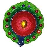 Set Of 12 Pc Diwali Gift Diwali Decorations Beautiful Diwali Diya Oil Lamp Tea Light Holder Christmas Decoration - B076FYN8Y5
