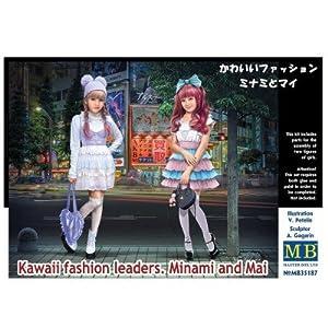 Master Box Ltd. mb35187-Figuras Kawaii Fashion Leaders.Minami and Mayo