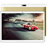 Springdoit 101-Zoll-Tablet Android 7.0 3G Anruf 4 + 64G Flat PC Tablet PC Media Player - Gold