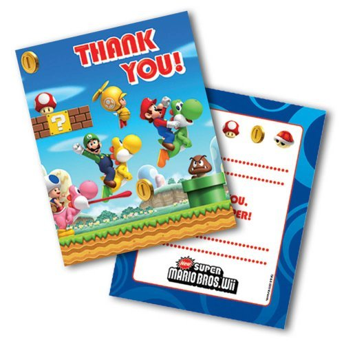 Mario Party danken Ihnen Karten 1 Satz von 6