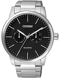 Citizen Analog Black Dial Men's Watch - AO9040-52E