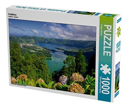 Preisvergleich Produktbild Caldeira 1000 Teile Puzzle quer: Portugal,Azoren,sao miguel (CALVENDO Orte)