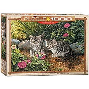 "Eurographics ""Double Trouble Gatito Puzzle (1000 Piezas"