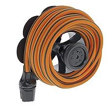 Claber Tuyau extensible Springy MT.25 9335, orange et noir